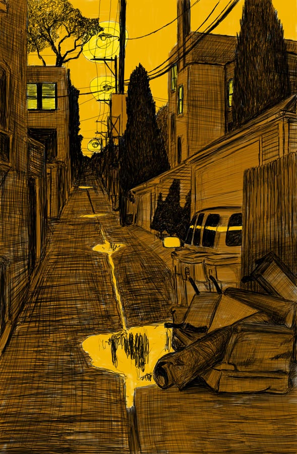 Alley Study 29 with Living Room Grouping