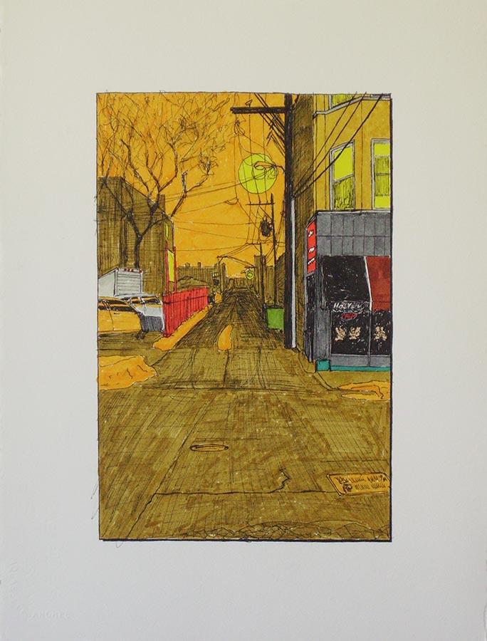 Alley with Hai Yen
