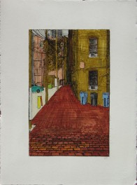Alley with Narrows and Bends