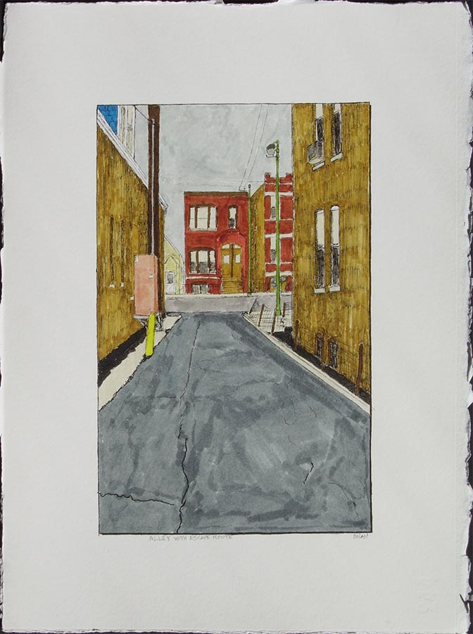 Alley with Escape Route