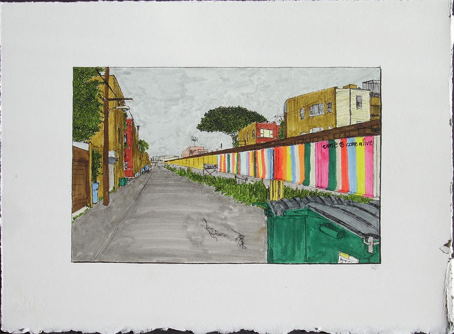 Alley with Ravenswood