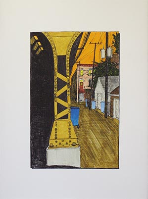 Alley with Metropolitan L