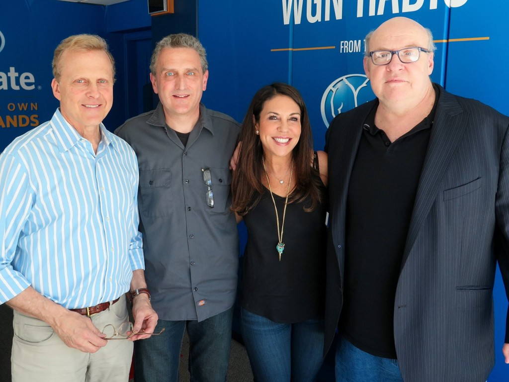 Bob Sirott, William Dolan, Marianne Murciano, Tony Fitzpatrick