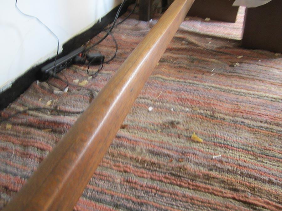 Worn Foot Rail