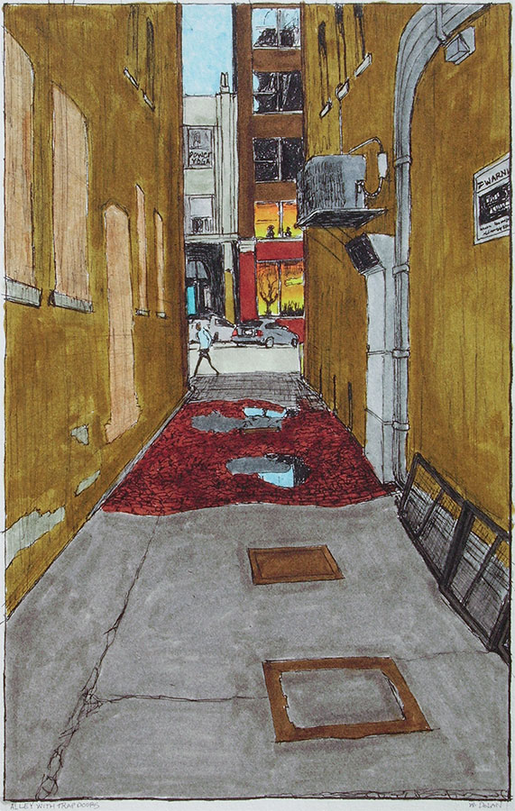 Alley with Trap Doors