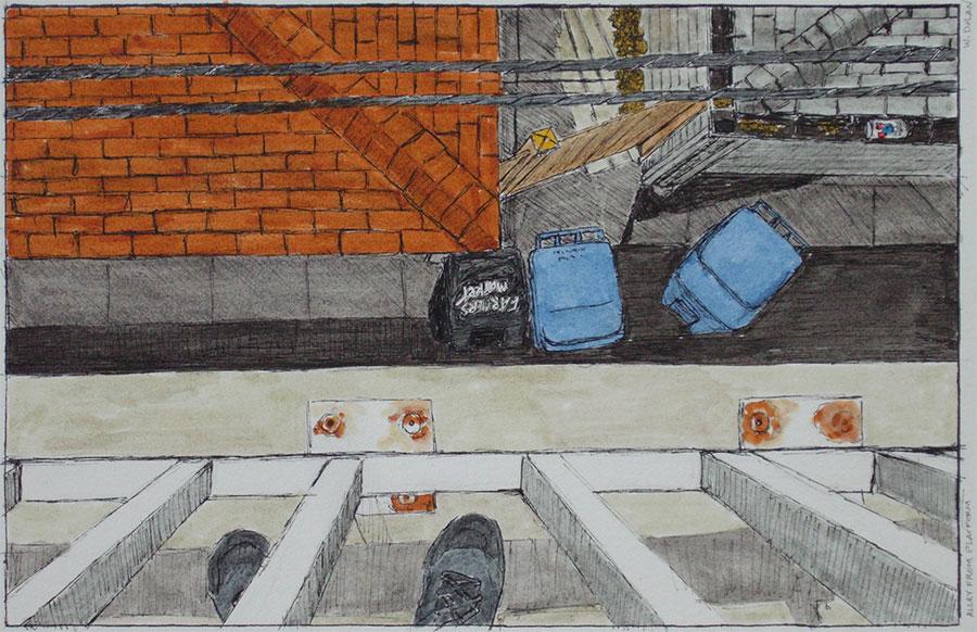 Alley from Platform