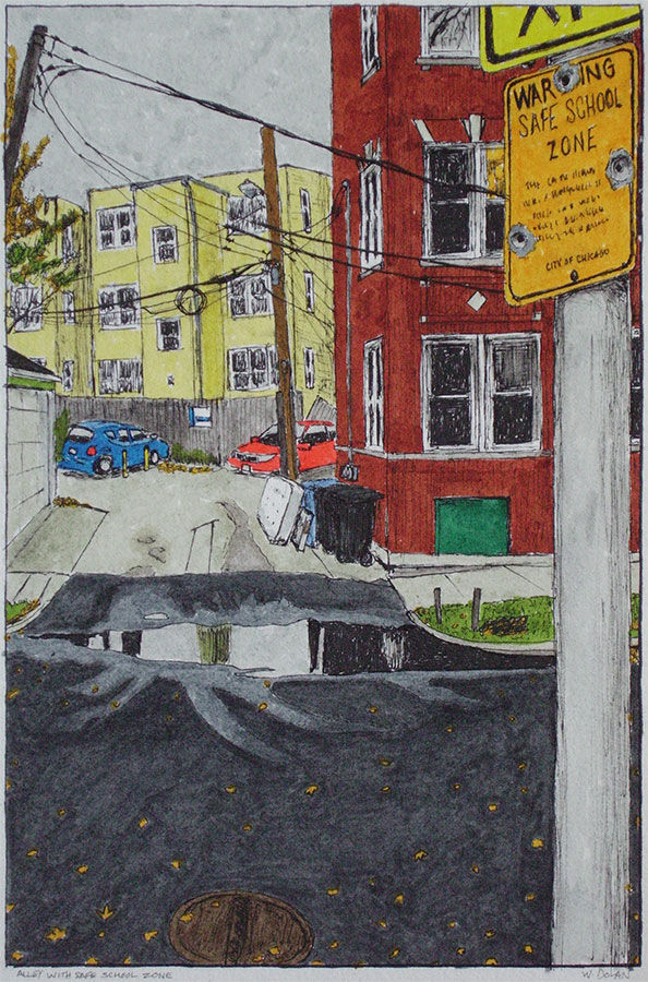 Alley with Safe School Zone